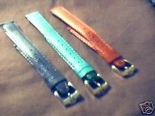 14MM Genuine Gucci Lizard Grain Watch Bands  ( 3 )