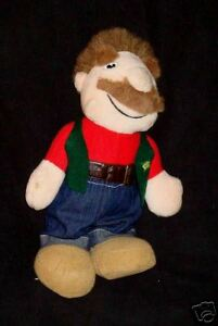 HANDY ANDY construction doll plush Midwest hardware 80s