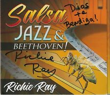 RICHIE RAY SALSA JAZZ & BEETHOVEN CD 2020 WHIT A MESSAGE & AUTOGRAPHED