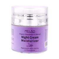 MELAO Organic Retinol Moisturizer Nourishing Night Cream Hyaluronic Anti-wrin 1J