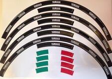 KIT ADESIVI PER CERCHI YAMAHA grafica ruote moto racing wheels stickers