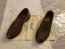 J.Crew Ludlow Italian Leather Penny Loafer, 8M, English Tan, NWB!, See Pics!