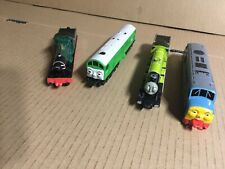 ERTL vintage Diecast Thomas The Tank Engine Train & Friends Lot Of 4 Read Descri