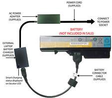 External Laptop Battery Charger for Lenovo IdeaPad B570 G570 Z570 Z580, L09L6Y02