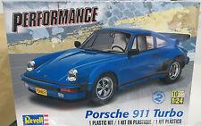 Revell 1/24 1987 Porsche 911 Turbo Plastic Model Kit 85-4330