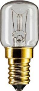 Philips Backofenlampe T25, 25W, E14, 300°C Glühlampe für Backofen