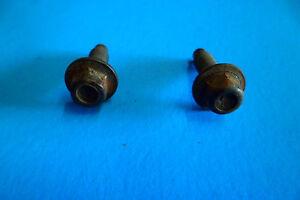 95-98 CAMARO RS FIREBIRD 3.8 V6 THROTTLE CABLE DETENT BRACKET BOLTS FACTORY