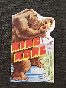 King Kong - Original 1933   Movie Herald  Cover - Fay Wray