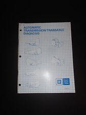 Gm Automatic Transmission/Transaxle Diagnosis Manual