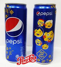 Emoji Cola Pepsi-Cola Can Limited Edition #JoywithPepsi PepsiMoji Super Rare FS
