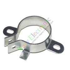 "4X 25mm 1"" Film Electrolytic Can Capacitor Tube socket audio Amp DIY metal Clamp"