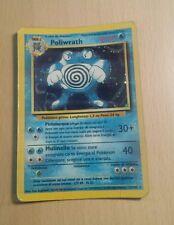 Pokemon carte rare Holo Foil  Poliwrath Set Base Unlimited PLAYED ITA