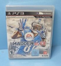 MADDEN 13 (PLAYSTATION 3 PS3) BRAND NEW FACTORY SEALED