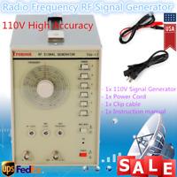 110V Radio Frequency Signal Generator RF/AM TSG-17 100kHz-150MHz High Quality US