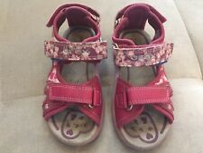 Geox Respira Girls Shoes Sandals Pink Size 8.5 Or 25 Water friendly