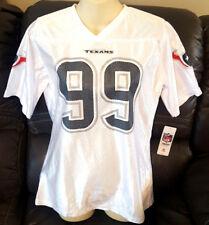 91539400b8f JJ WATT Youth Girls Jersey Size XL 14 16 Houston Texans Wihte Sparkle Logo  New