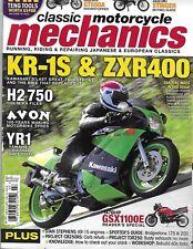 Classic Motorcycle Mechanics Magazine Kawasaki H2 Suzuki Stinger Yamaha 2011