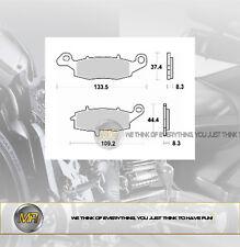 KAWASAKI VN VULCAN NOMAD 1500 DAL 1998 AL 2001 COPPIA PASTIGLIE FRENO ANTERIORI