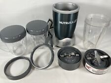 Magic Bullet Nutribullet 600 Series NB-WL007-02 Blender and Smoothie maker 10 pc