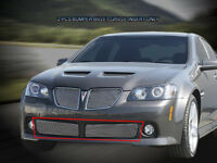FOR 08 09 PONTIAC G8 2008-2009 BUMPER BILLET GRILLE GRILL INSERT Bolt over