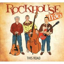The Rockhouse Trio CD This Road - Authentic Rockabilly Trio! Crazy Times Records
