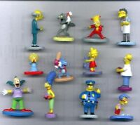 Raro Set 12 Figuras Colección The Simpsons Original Panini Italia Homer Bart