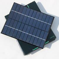 5.2W 6/12V polyCrystalline Cells Solar Panel Poly Solar Module Battery Charger