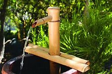 Bamboo Accents Water Fountain Spout Complete Kit includes Submersible Pump fo...