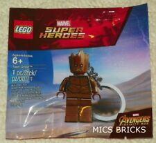 LEGO 5005244 - Guardians of the Galaxy - Teen Groot - Mini Figure Key Chain