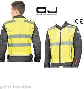 Gilet di emergenza OJ FLASH TG xl/xxl  certificato EN1150 giallo fluorescente