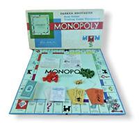 Vintage 1961 MONOPOLY - USA Real Estate Board Game - PARKER BROTHERS