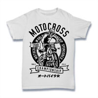 MOTOCROSS T SHIRT ROAD BORN TO RIDE CHAMPIONSHIP mens S-3XL