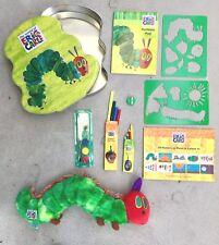 NEW The Very Hungry Caterpillar & PLUSH Activity art Set Tin ERIC CARLE RP $35