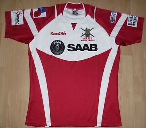 Player Issue British Army Rugby League Shirt Size Large - Tight Fitting