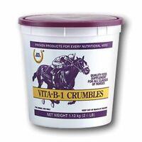 Farnam Vita B1 Equine Horse Feed Crumbles Supplement 2.5lbs Race Show
