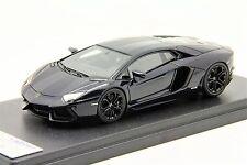 1/43 Looksmart Lamborghini Aventador LP700-4 Blu Hera Free Shipping/ MR BBR