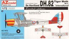 """AZ Models 1/72 de Havilland DH-82 Tiger Moth Mk.II """"International"""" LE # 74072"""