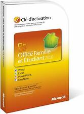 Microsoft Office Family and Student 2010 (FRENCH)