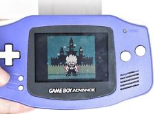 Nintendo Gameboy Advance AGB-001 Indigo Purple Handheld GAME NOT INCLUDED
