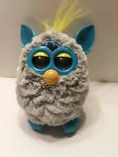 Furby 2012 Gray/Turquoise Blue Tested Working Hasbro Toy