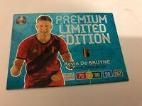 PANINI ADRENALYN XL EURO 2020 KEVIN DE BRUYNE PREMIUM LIMITED EDITION MINT