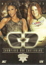 LITA & JAZZ   WWE 2004 CHAMPIONS & CONTENDERS Insert Card #9CC