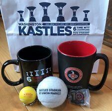 Washington Kastles -Gift bag with mugs, keychain, tennis ball, pin and more!