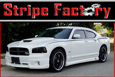 CHARGER SIDELINE SIDE SPEARS DODGE 2006-2010 GRAPHIC DECAL 3M FACTORY STRIPE