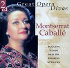 MONTSERRAT CABALLE : GREAT OPERA DIVAS / 2 CD-SET - TOP-ZUSTAND