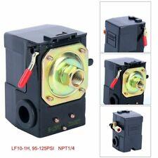 Air Compressor Pressure Switch Control Valve 120PSI 1 Port Unloader On/Off Lever