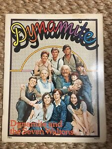 RARE Vintage Dynamite Magazine #2 Dynamite and the Seven Waltons! - 1974