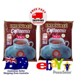 2x Indocafe Coffeemix 3in1 Sugar Creamer Indonesian Instant Kopi 30 x20g Halal