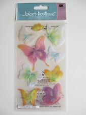 Jolee'S BOUTIQUE Pegatinas 3D-Mariposas-Butterfly Pastel De Vitela