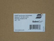 ESAB SABRECUT SC250-15-510 MEDIUM DUTY ACETYLENE REGULATOR